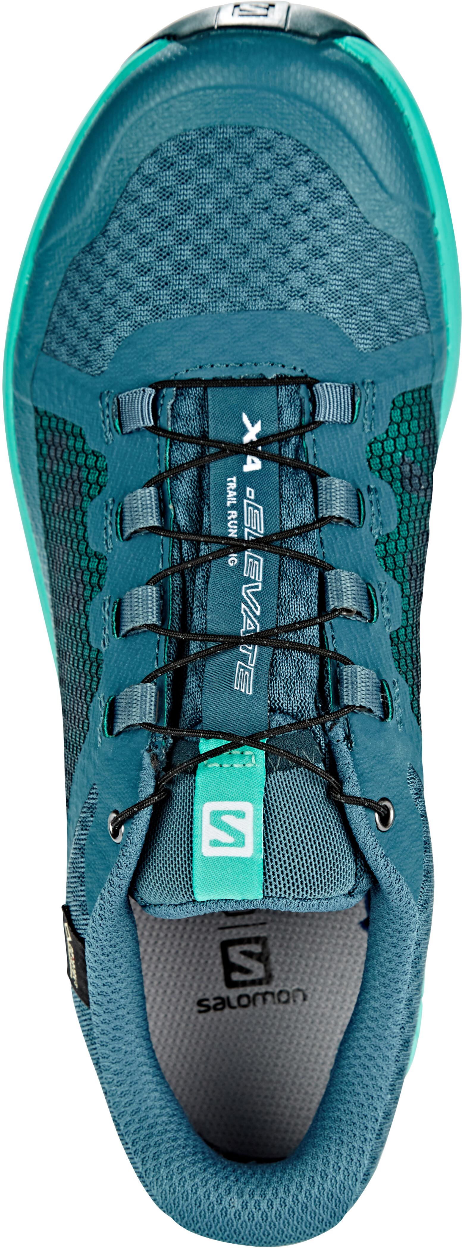 d698840e6a94 Salomon XA Elevate GTX Shoes Women mallard blue atlantis reflecting pond